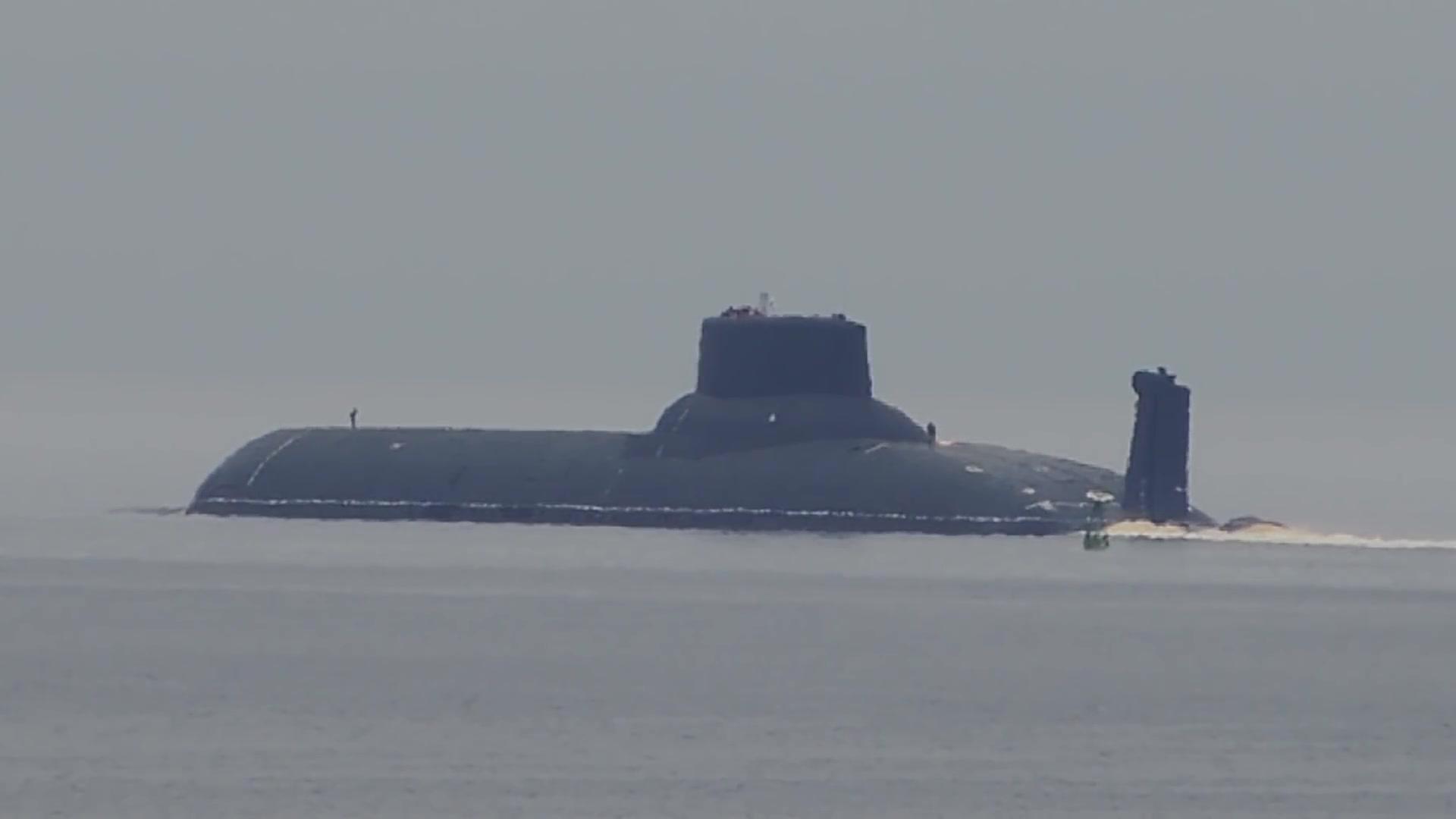 中美俄核潜艇水下噪音对比:美国92分贝,俄90分贝,中国是多少