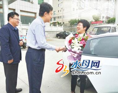 白衣天使王丽华赴济捐献造血干细胞 系烟台第45例捐献者