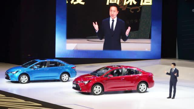 2019年5月20日,广汽丰田全新换代雷凌在乌镇正式发布上市