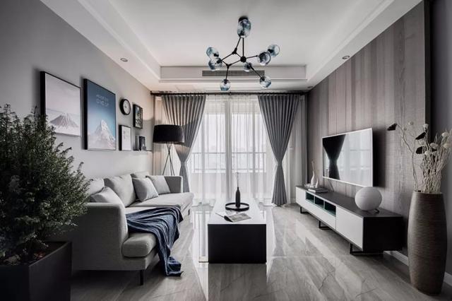 86.54平米二居室的北欧风格案例,全包只花9万!-华润悦府世家装修