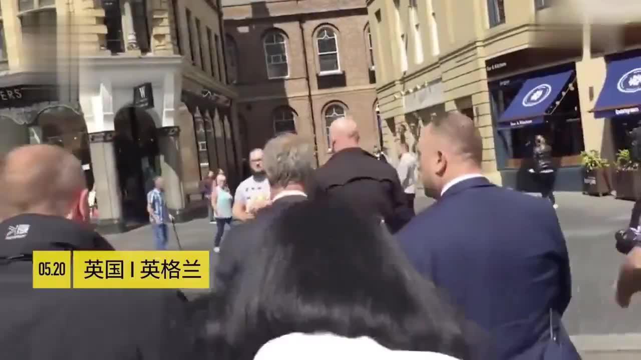 英国脱欧派被当街泼奶昔 警方要求麦当劳停售奶昔也没防住