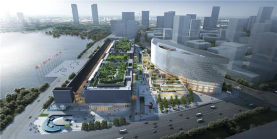 总面积达一万平方米!国内最大单体会议厅实现钢结构封顶