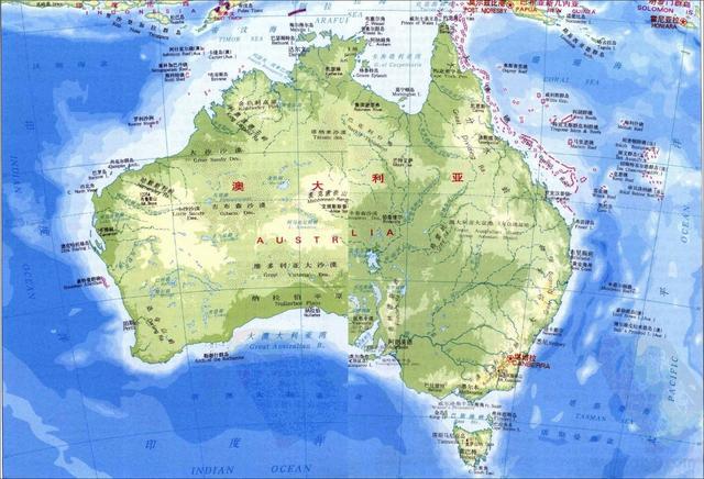 澳大利亚海军实力如何?战舰性能一流,专为与印度争霸印度洋准备