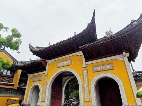 苏州''寒山寺''—充满着人文气息的名胜古迹