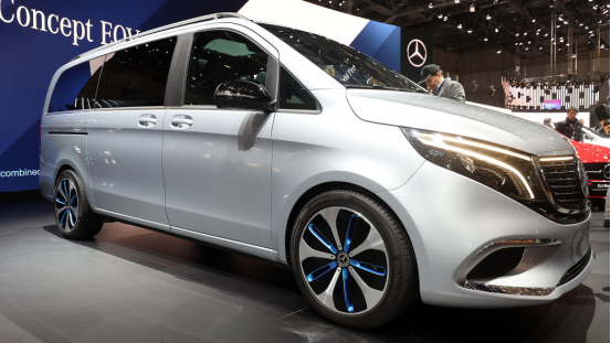 梅赛德斯-奔驰概念车EQV的5个发现,相当的有趣
