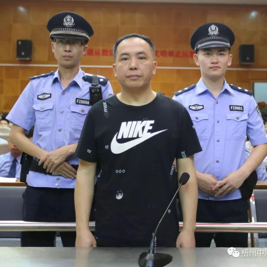 岑溪市原副市长胡伟涉嫌犯受贿罪一案今日开庭