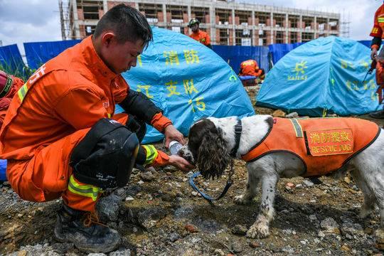 内江消防开展跨区域地震救援拉动演练