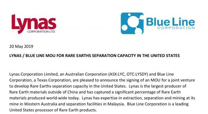 时机微妙?澳稀土生产商要在美建厂填补供应链空白