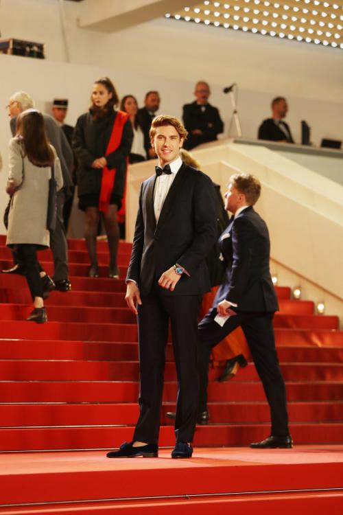 马赛罗·欧根亮相《Frankie》首映红毯 展现优质轻熟男超凡魅力
