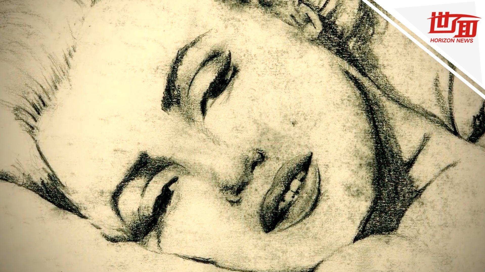 男子从小开始梦游作画 每天醒来看见新作品吓一跳