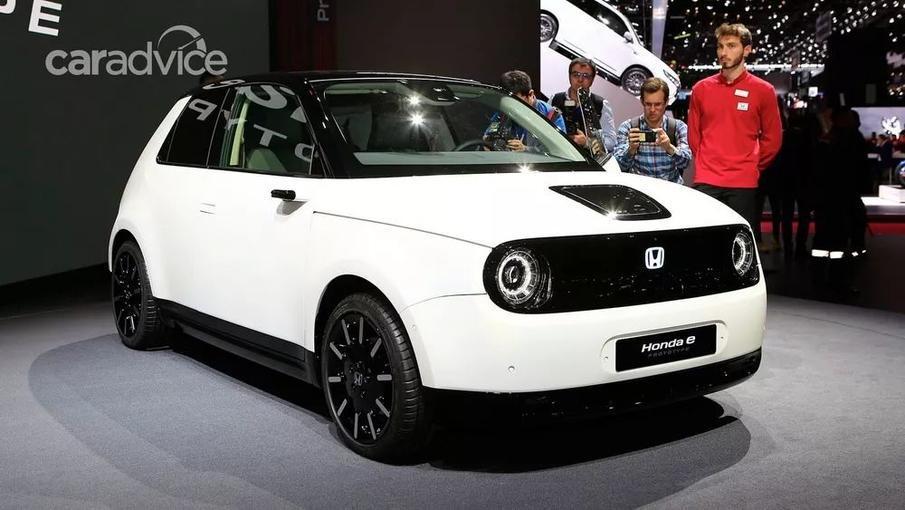 本田这台电动车很可爱 可我们暂时买不到