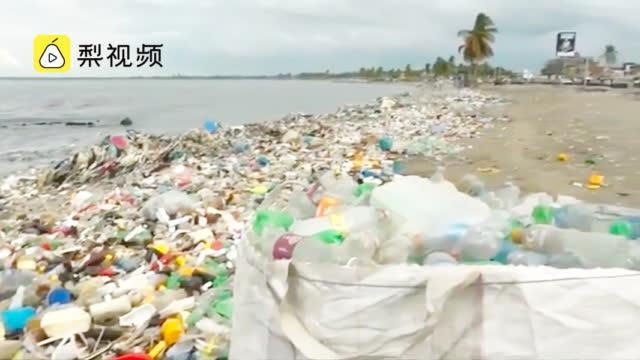 :部分自治体垃圾量翻三倍,政府呼吁亟须负责