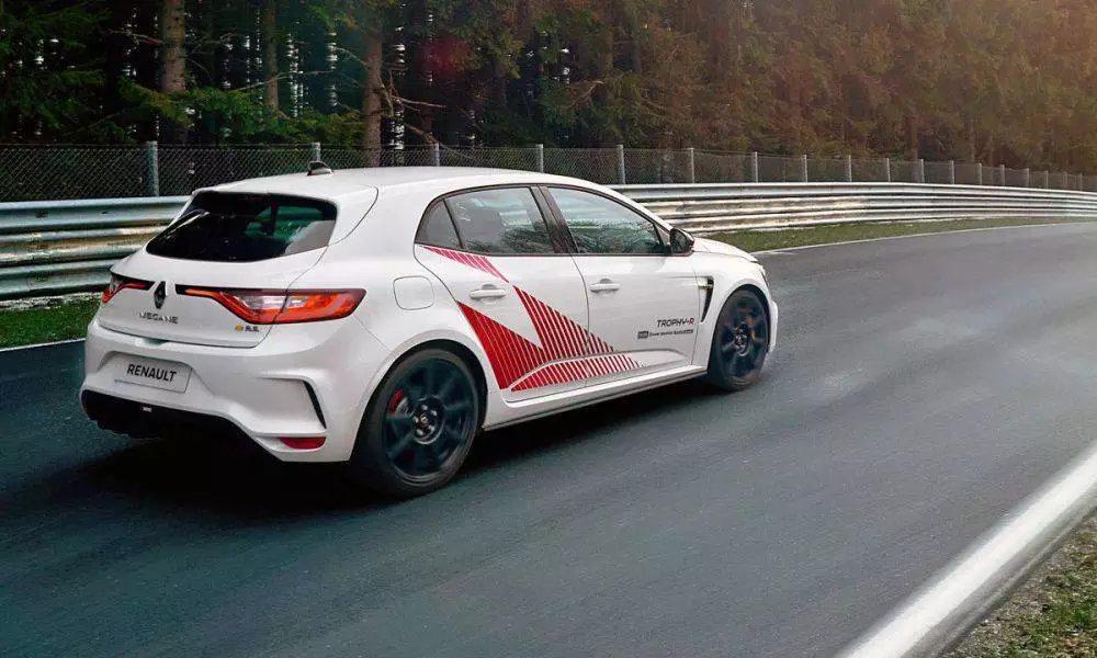 最速纽北量产前驱车 雷诺梅甘娜RS Trophy-R官图发布