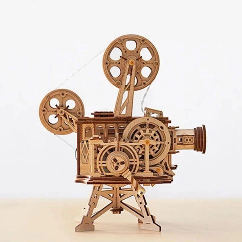 我做了一台手摇复古放映机,效果超惊艳!| 好物推荐