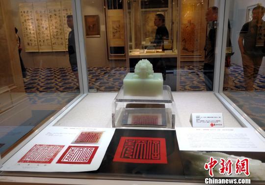 最大体量乾隆白玉玉玺亮相北京保利春拍上海预展