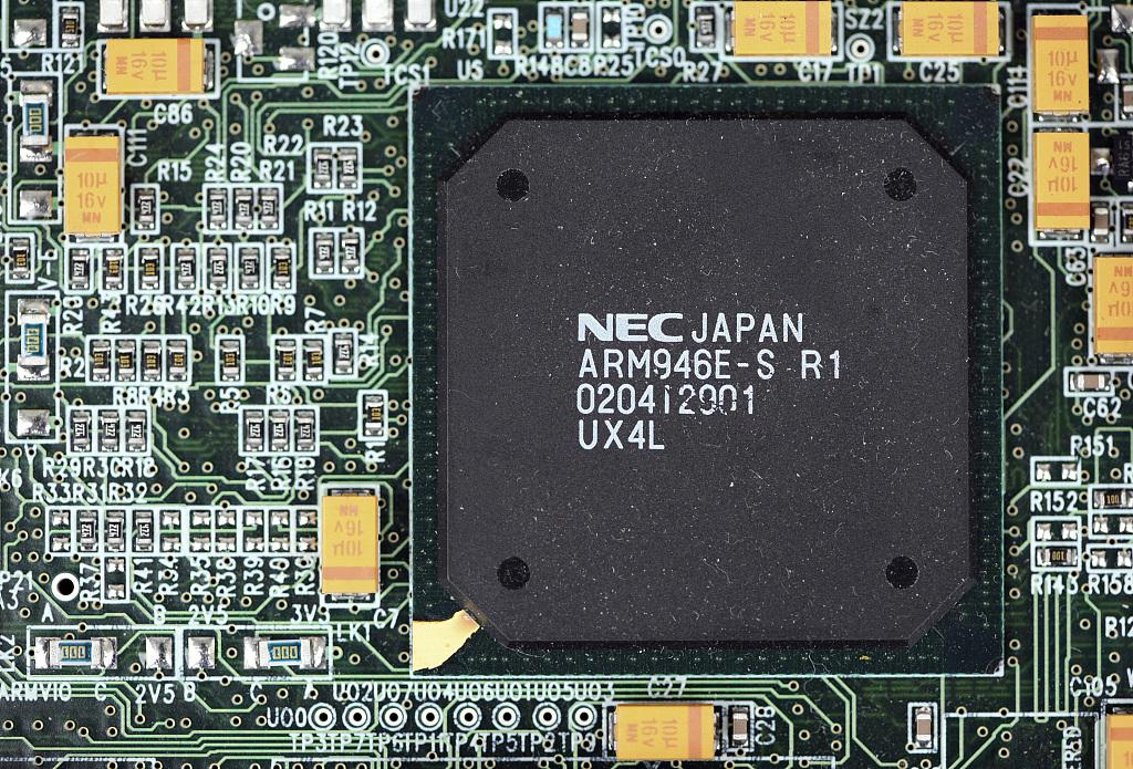 ARM設計的由日本NEC公司生產的微處理機芯片。