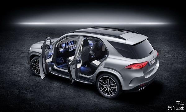 2020年梅赛德斯 - 奔驰GLE 580推出轻度混合动力V8发动机车型
