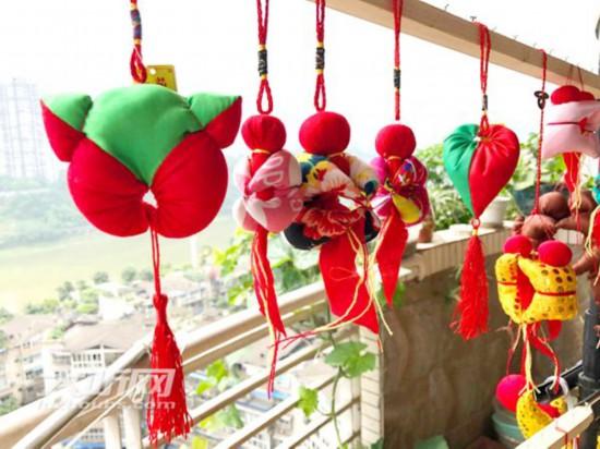 感受传统节日之美四川泸州将向市民送香包、送粽子