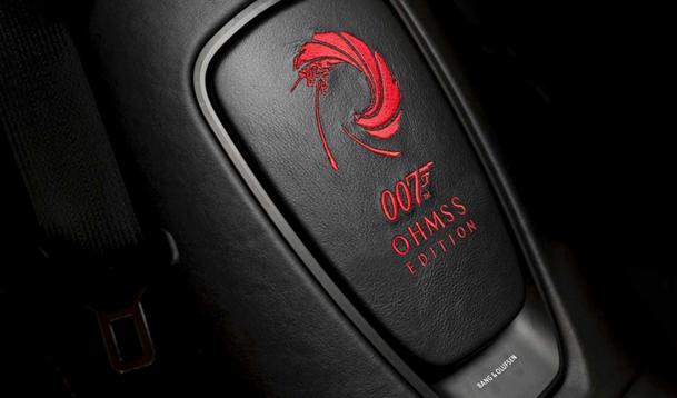 詹姆斯邦德来了,阿斯顿·马丁致敬007推特别版车型 全球限量50台
