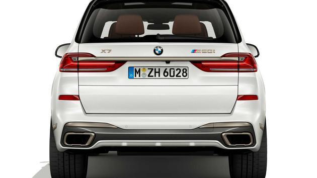 宝马X5/X7新车型官图发布 均为高性能车