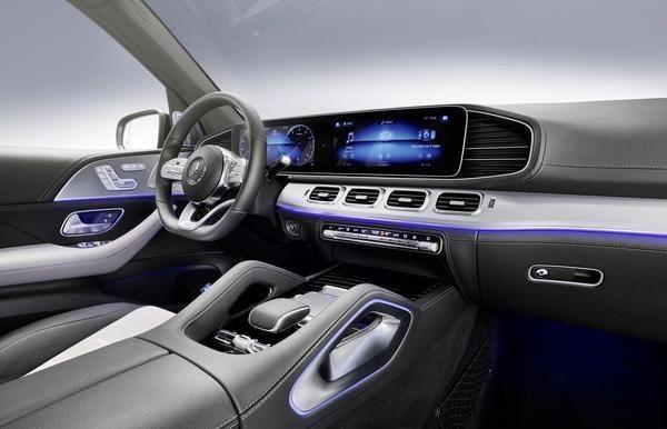 V8发动机+48V轻混系统 奔驰GLE 580官图发布