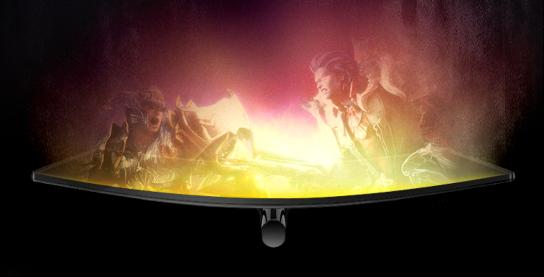 用曲面显示器玩游戏如何?WCG2019现场见分晓