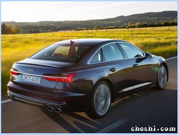 奥迪新款S6实拍曝光!配搭全新V6引擎,百公里油耗仅7.8L