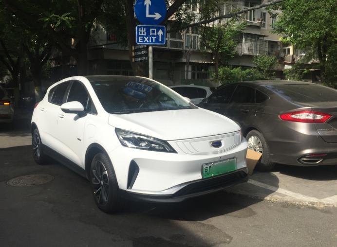 """2019款帝豪GSe高速续航实测,最后100km自动""""限制""""车速"""