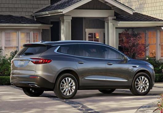 全新别克旗舰7座SUV下半年即将引入,外观时尚年轻欲竞争汉兰达