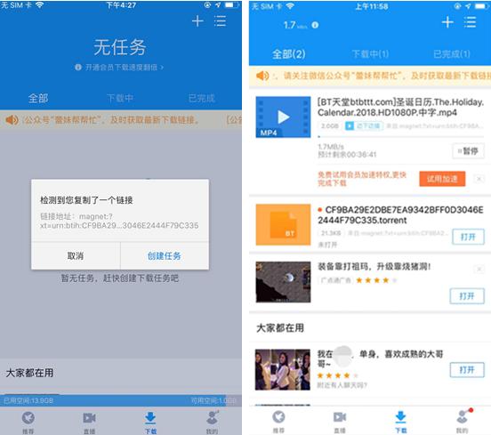 人妻阳菜迅雷下载地址_迅雷ios版恢复下载,又能用苹果手机下载电影愉快追剧了