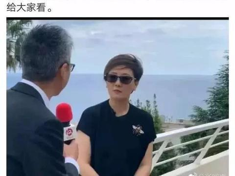 61岁邓婕现身法国戛纳,黑超遮面打扮时尚,张国立发文力挺娇妻!