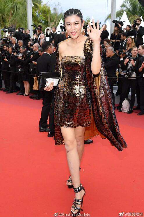 戛纳电影节蹭红毯的网红们真的是丑,妖魔鬼怪,电影画皮美女8排图片