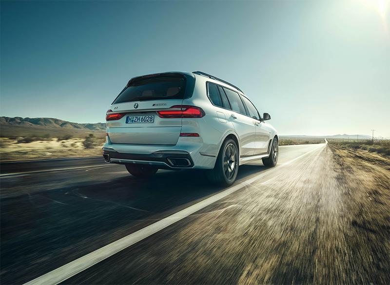 性能版SUV新选择 宝马X5/X7 M50i官图发布