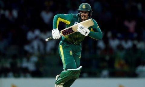 主攻手德·考克承载着南非击球手的希望