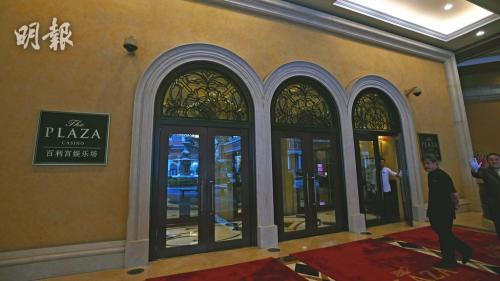 澳門四季酒店百利宮娛樂場。圖片來源:香港《明報》/衛永康 攝