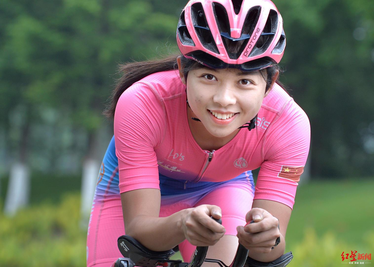 成都27岁软妹子不简单!入选首支中国业余铁人三项代表队