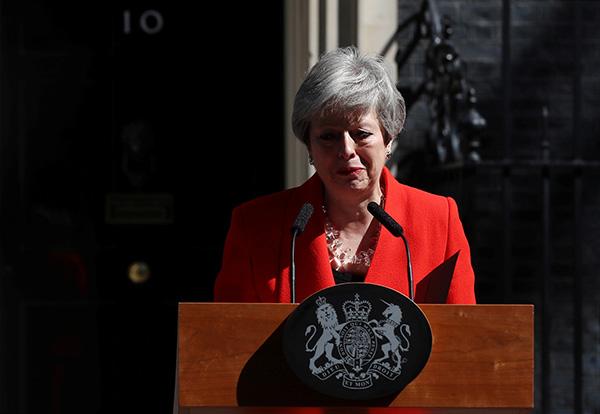 特雷莎宣布将辞职后:欧盟反应审慎,特朗普称此决定有利英国