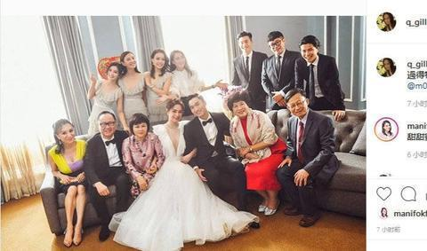 阿娇发文庆祝结婚一周年,力破夫妻分居传闻