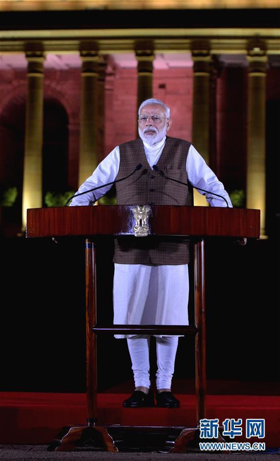 印度总统任命莫迪为新总理