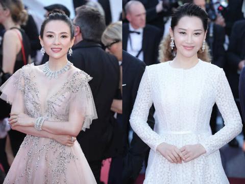 戛纳闭幕式:章子怡仙美,刘翔前妻很惊艳,史泰龙女儿身材吸睛