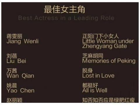 赵丽颖再次入围白玉兰奖,网友们称赞:当之无愧的实力派演员