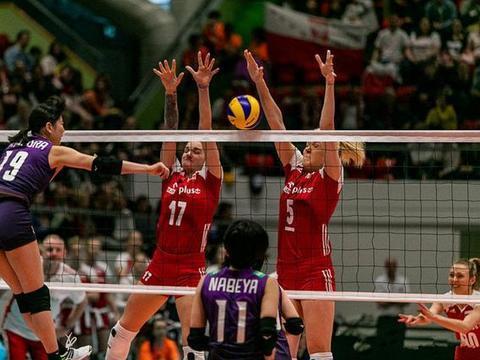 瑞士女排精英赛冠亚军争夺中,波兰女排3:1战胜日本。