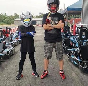 林志颖儿子初长成,Kimi追随爸爸爱好玩赛车,父子俩酷劲十足!