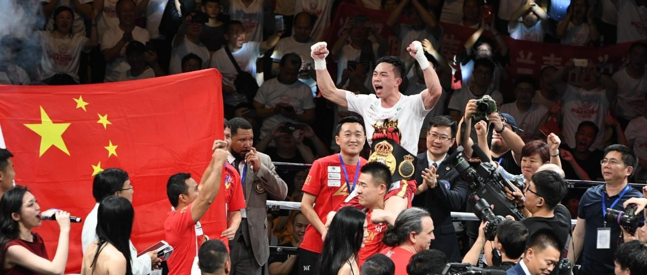 世界拳王争霸赛在抚州打响 徐灿成功卫冕世界拳王