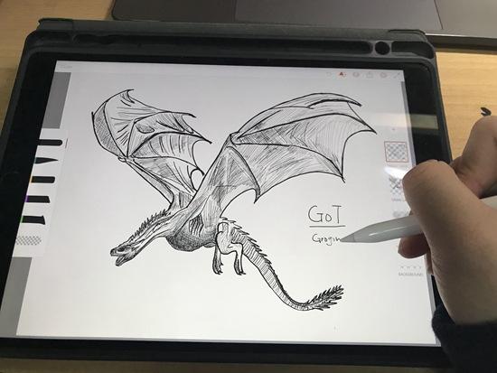 1月底,黄文韬在参加美赛时刻为论文制造插图。受访者供图