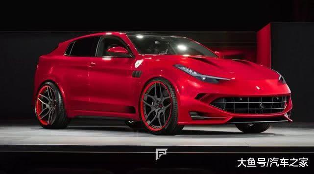 """网友化身""""法拉利设计师"""",PS大神描绘了未来SUV的模样"""