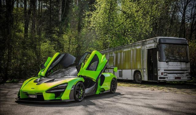国内首台迈凯伦塞纳上路,限量500台的神车终于来了!