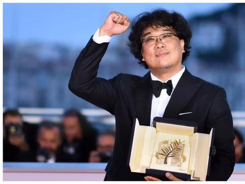 第72届戛纳国际电影节 获奖者留影 奉俊昊 获得金棕榈奖!