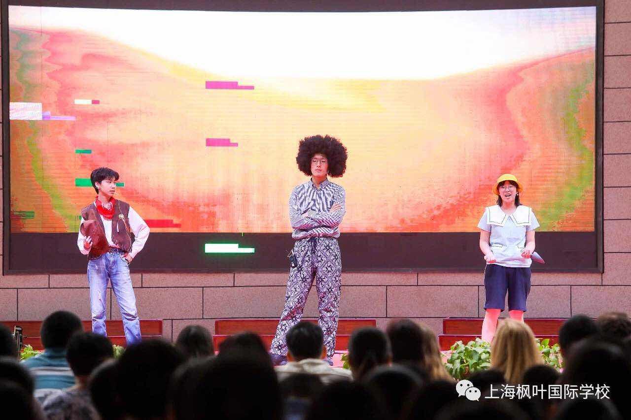 """从校园内展示到面向社会演出,上海枫叶国际学校把""""英语艺术节""""办到了商业广场"""