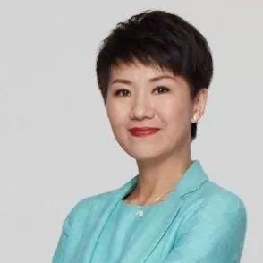 ▲中國國際電視臺(CGTN)主持人劉欣